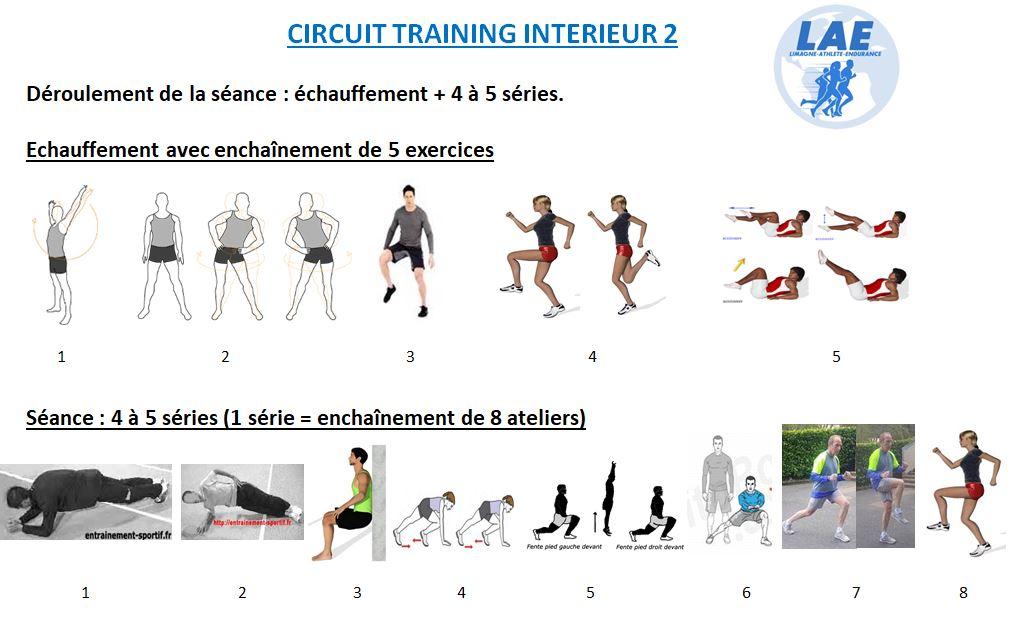 Séance entraînement intérieur n°2