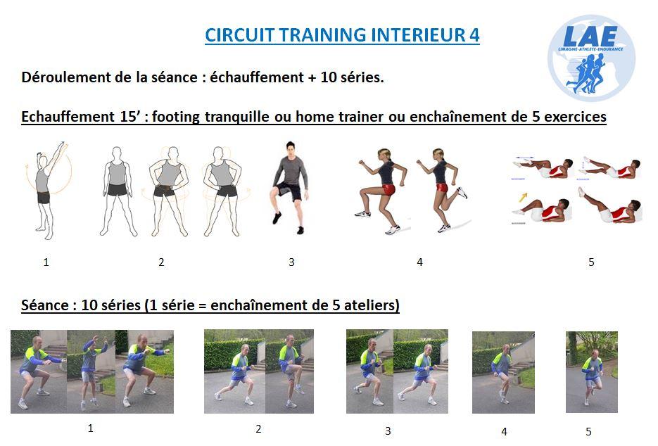 séance d'entraînement n°4